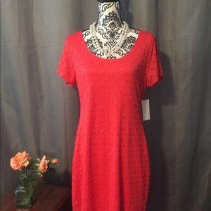 🌺 NWT Corral Isaac Mizrahi eyelet dress